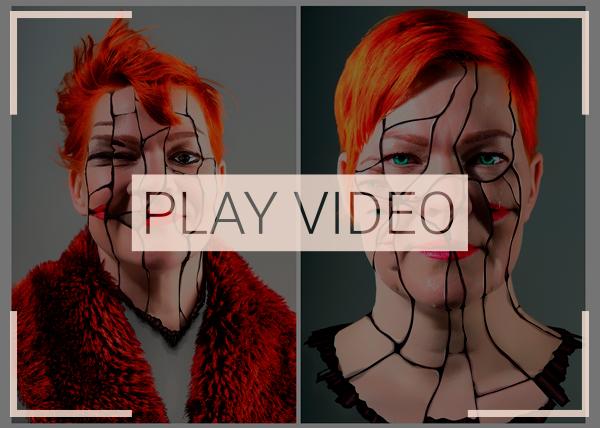 Pyha Sotilas, theater play, Model, Kaisla Pirkkalainen, Retouch, Nadezhda Bessedina, Photography, Ivan Bessedin, art, Fennica