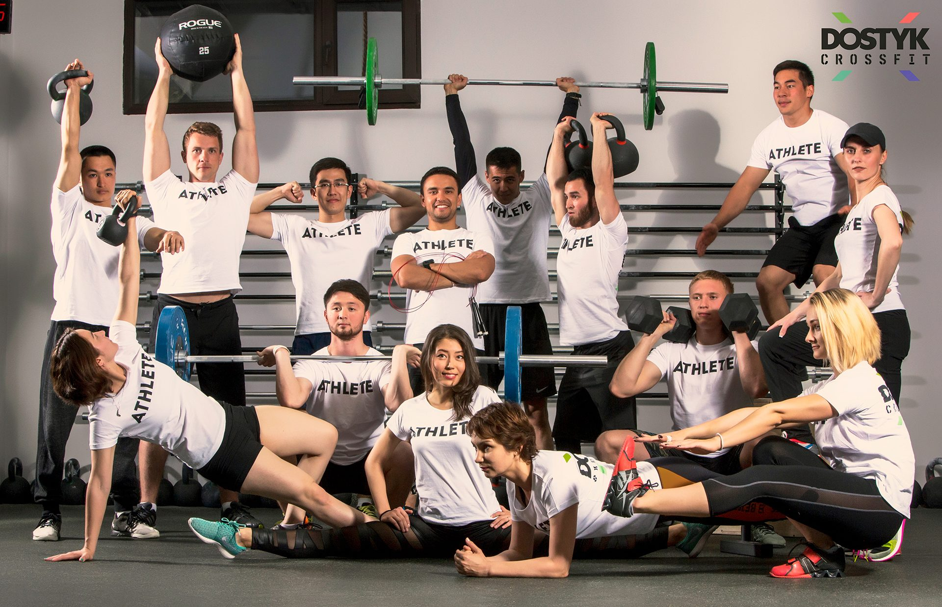 CrossFit box, coaching staff, Dostyk
