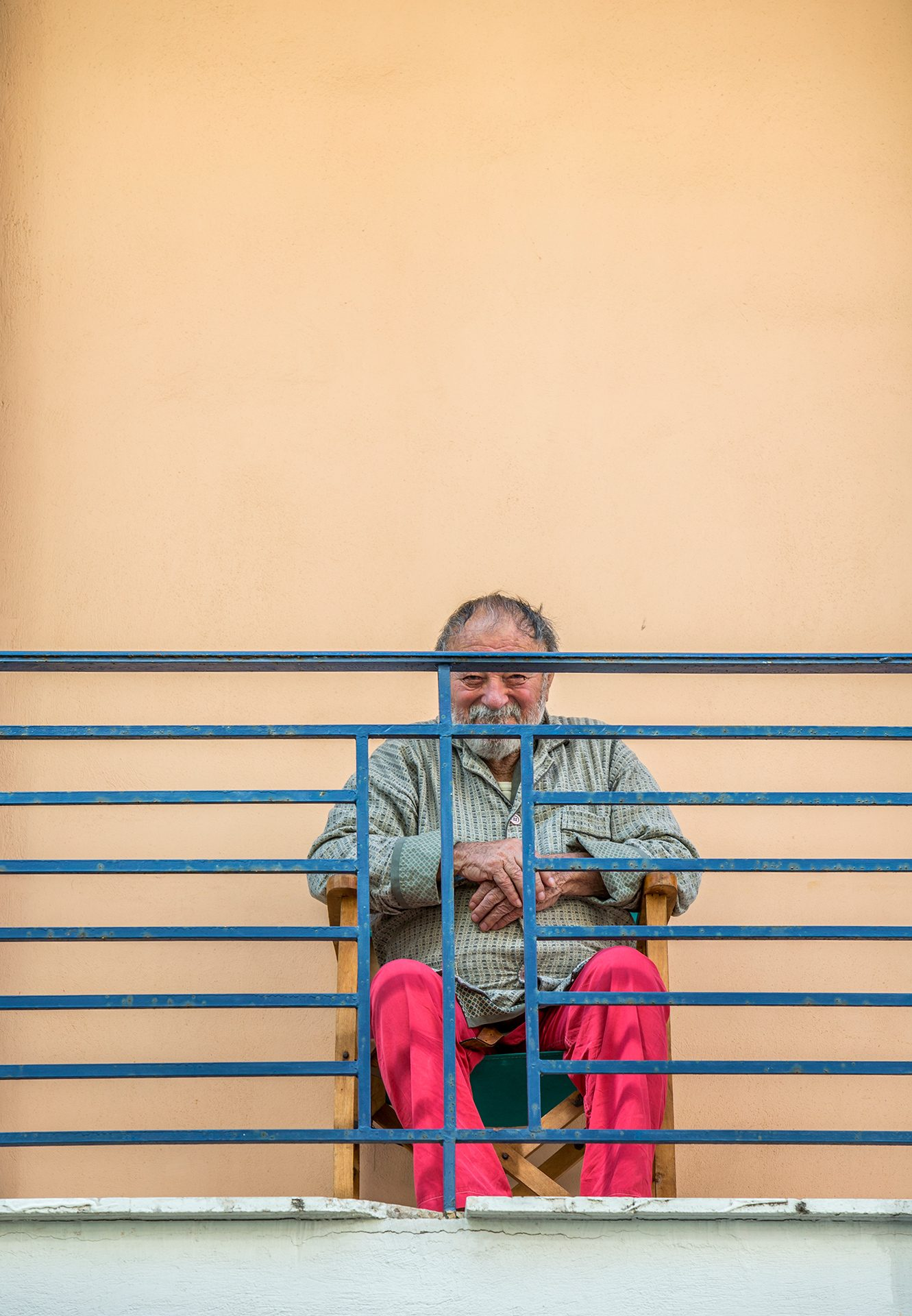 Smile, Corinth, Greece, old man, positive