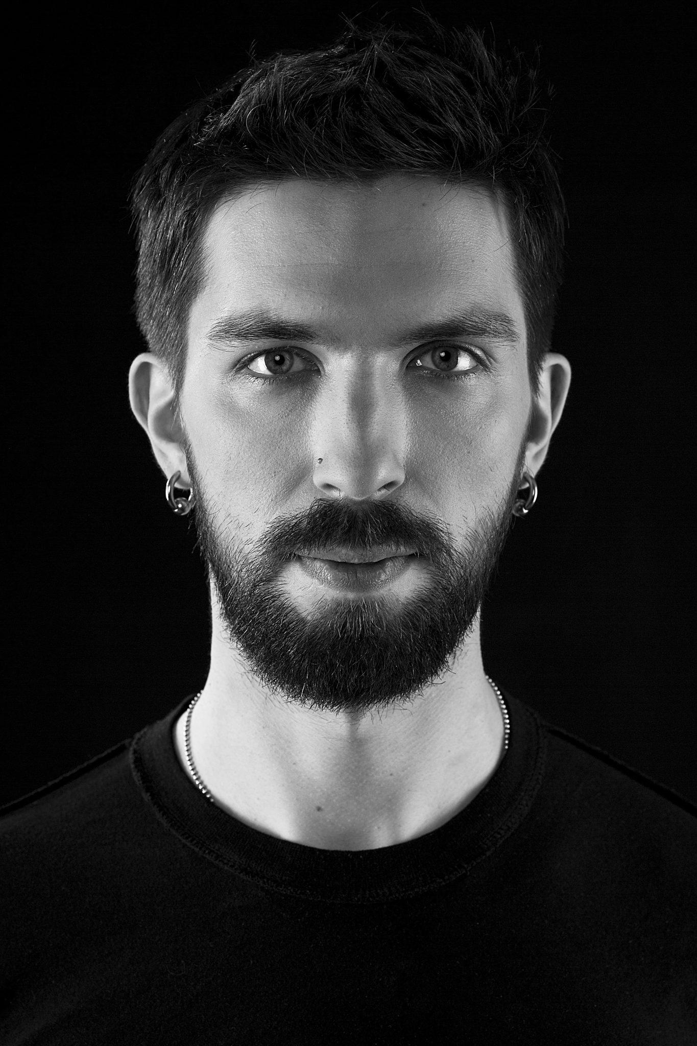 Artyom Pylnov, drummer, portrait