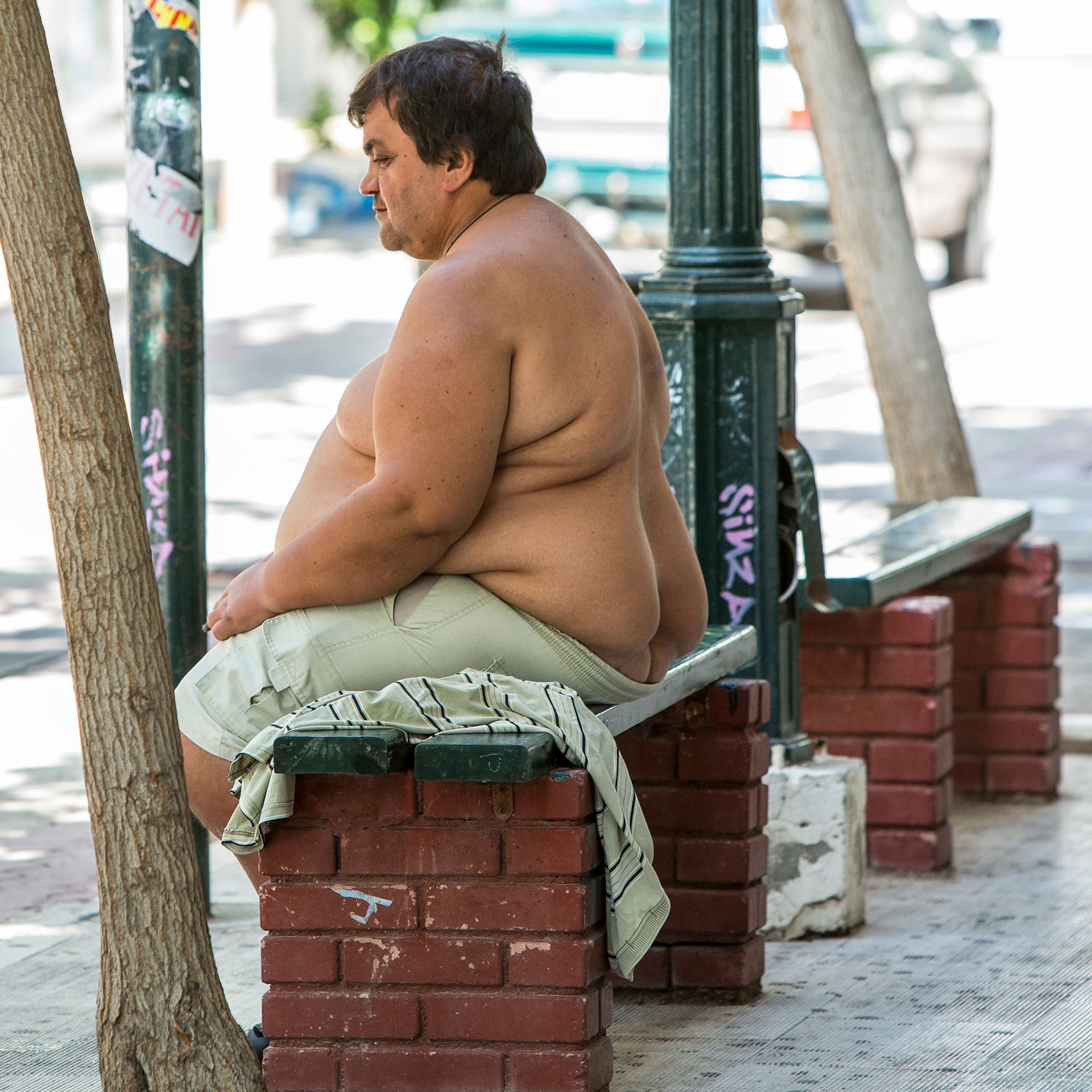 Dreamer, Corinth, Greece, Greek, fat, overweight, chubby