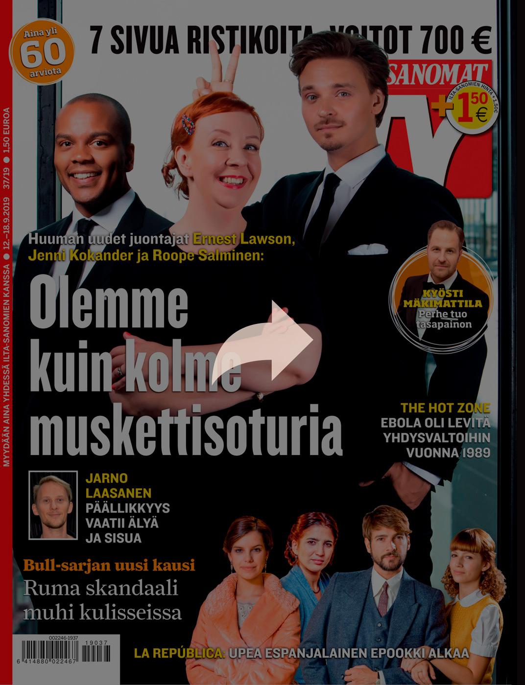 Ilta-Sanomat, TV-lehti, 2019