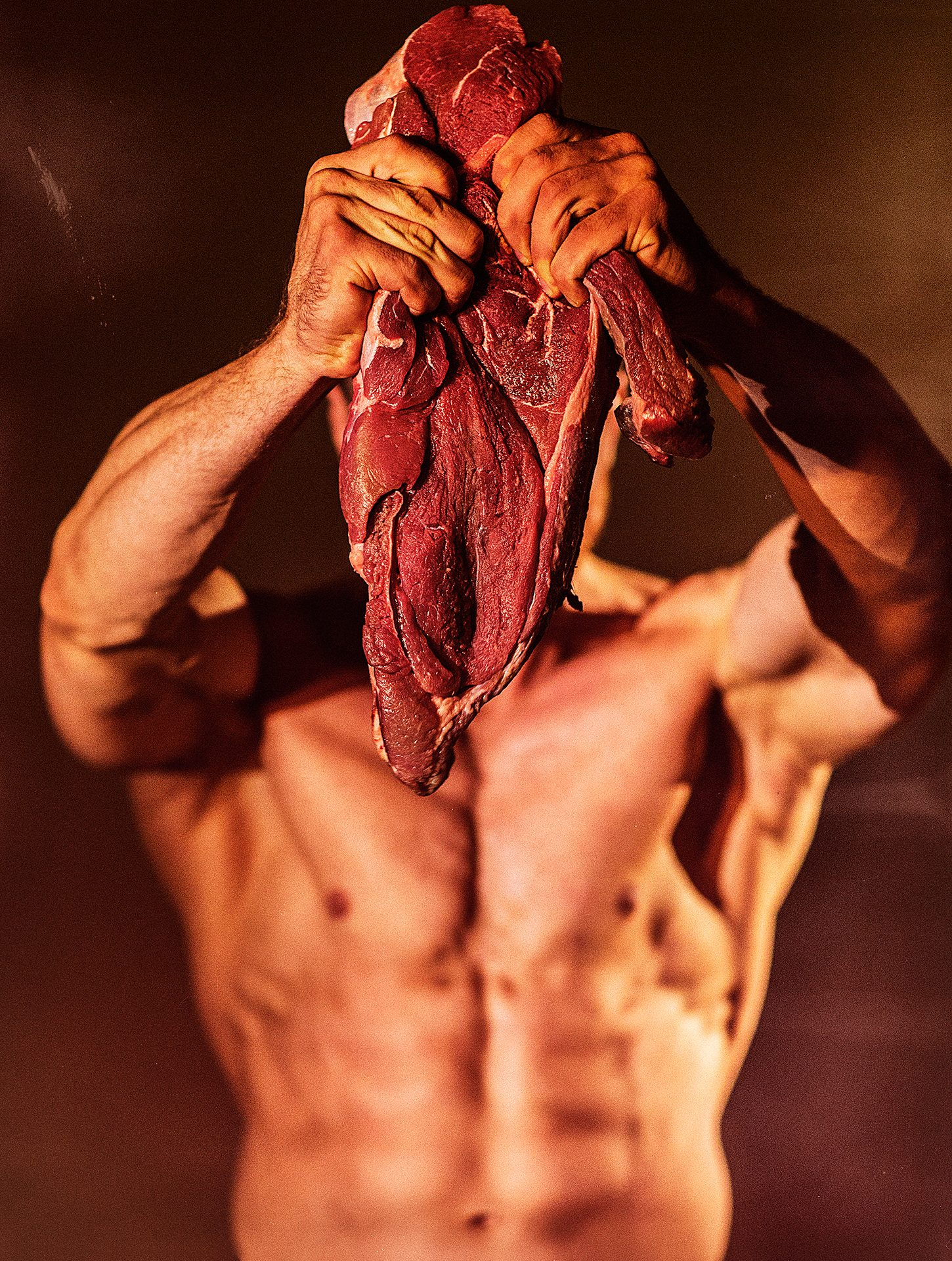 Peace of Meat, Model, Ivan Goncharov, bodybuilder, sportsman, meat