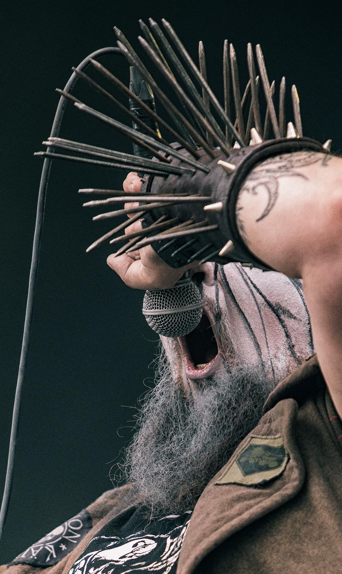 Petja Turunen, Turmion Kätilöt band, Tuska metal festival