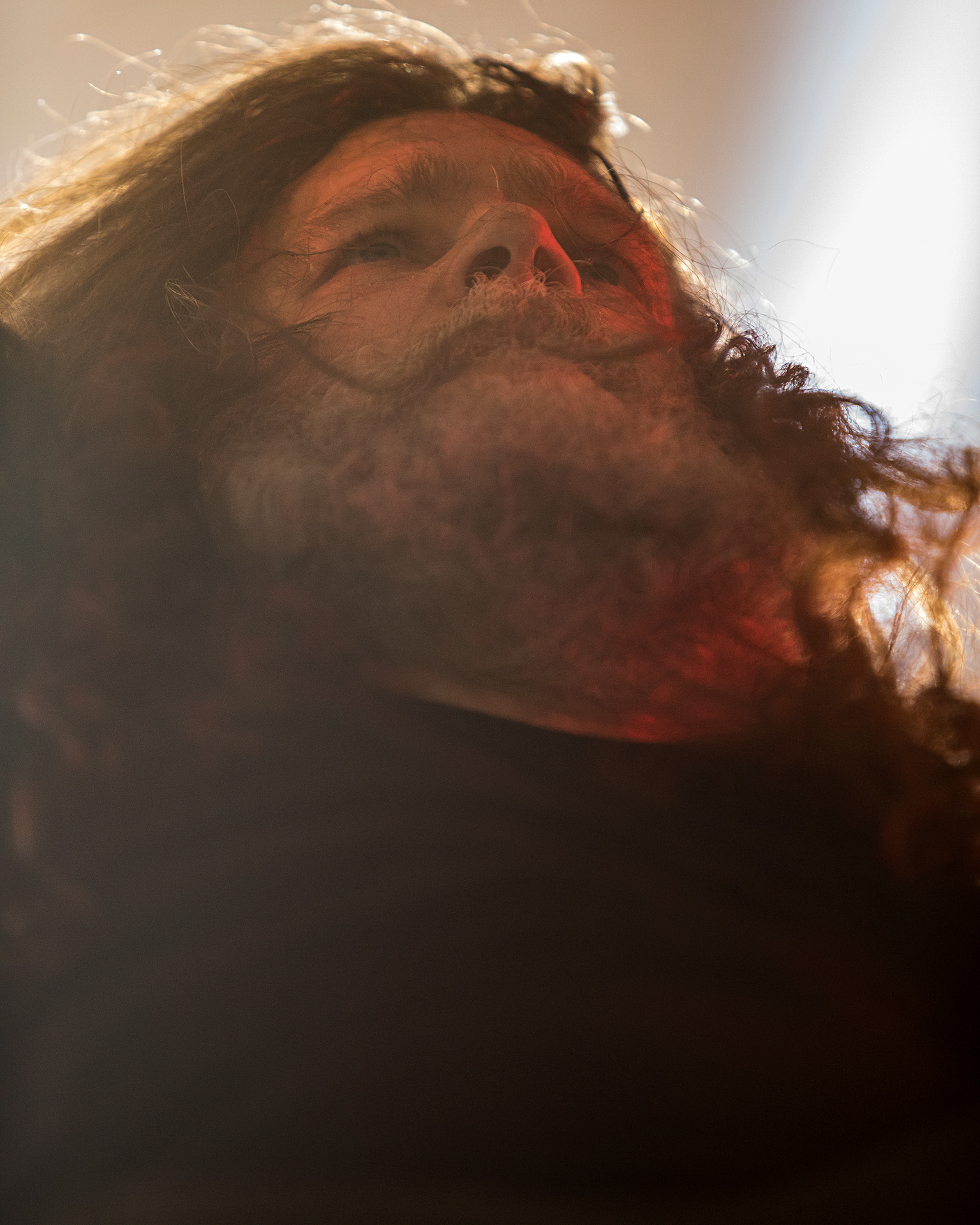 Mårten Hagström, rhythm guitarist, Meshuggah, Tuska metal festival