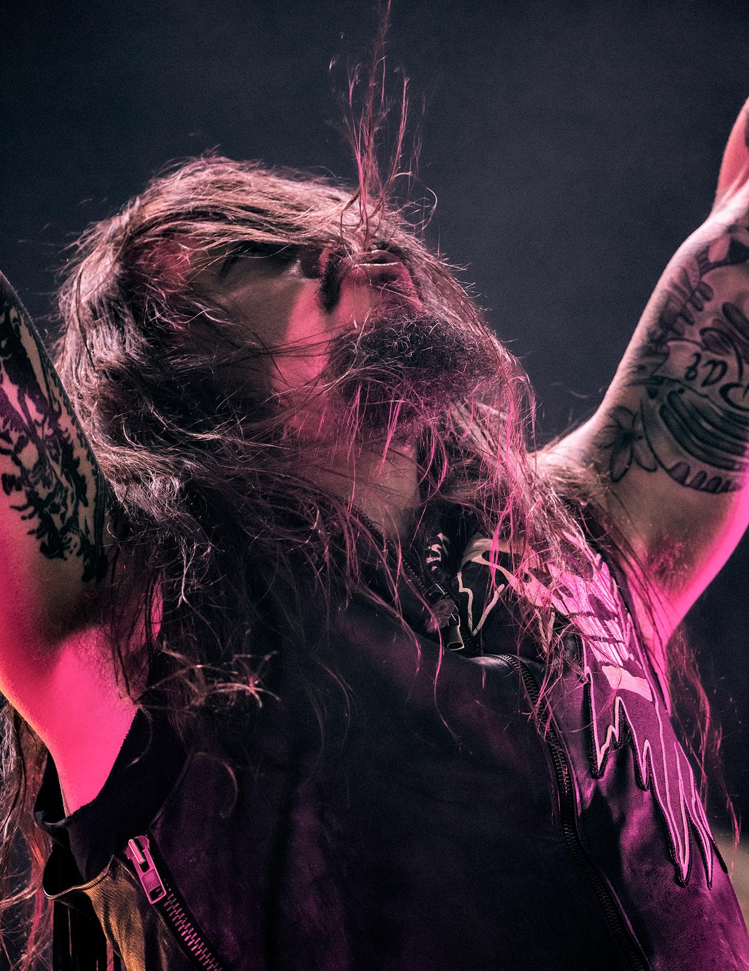 Tomi Joutsen, Amorphis, band vocalist, Tuska metal festival