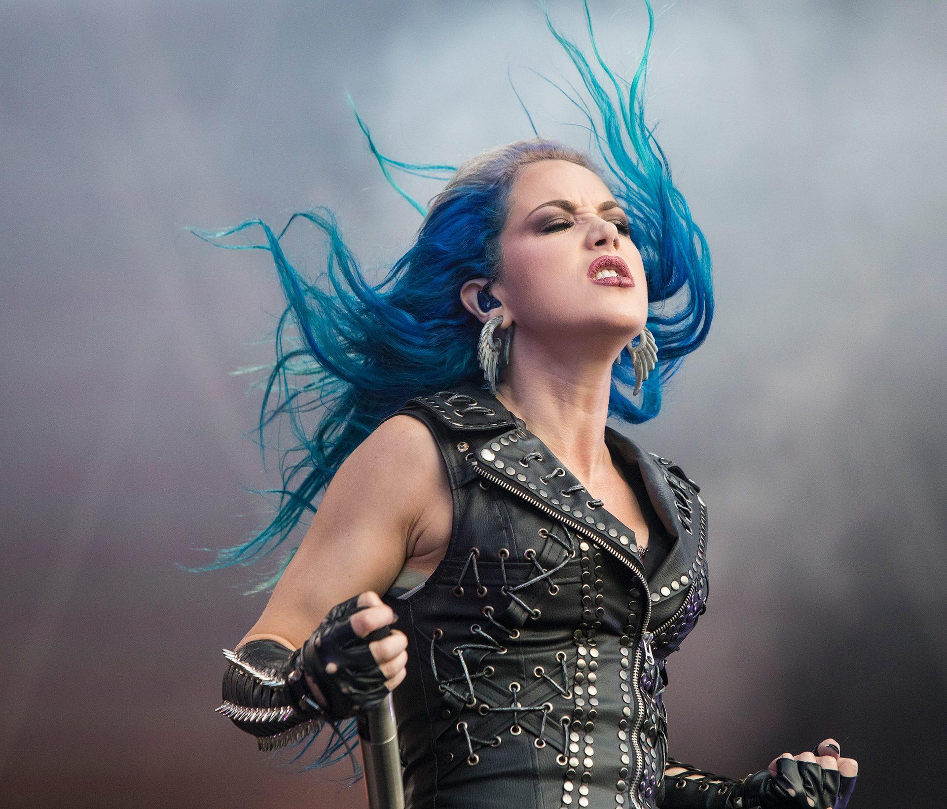 Alissa White-Gluz, Arch Enemy band, Tuska metal festival