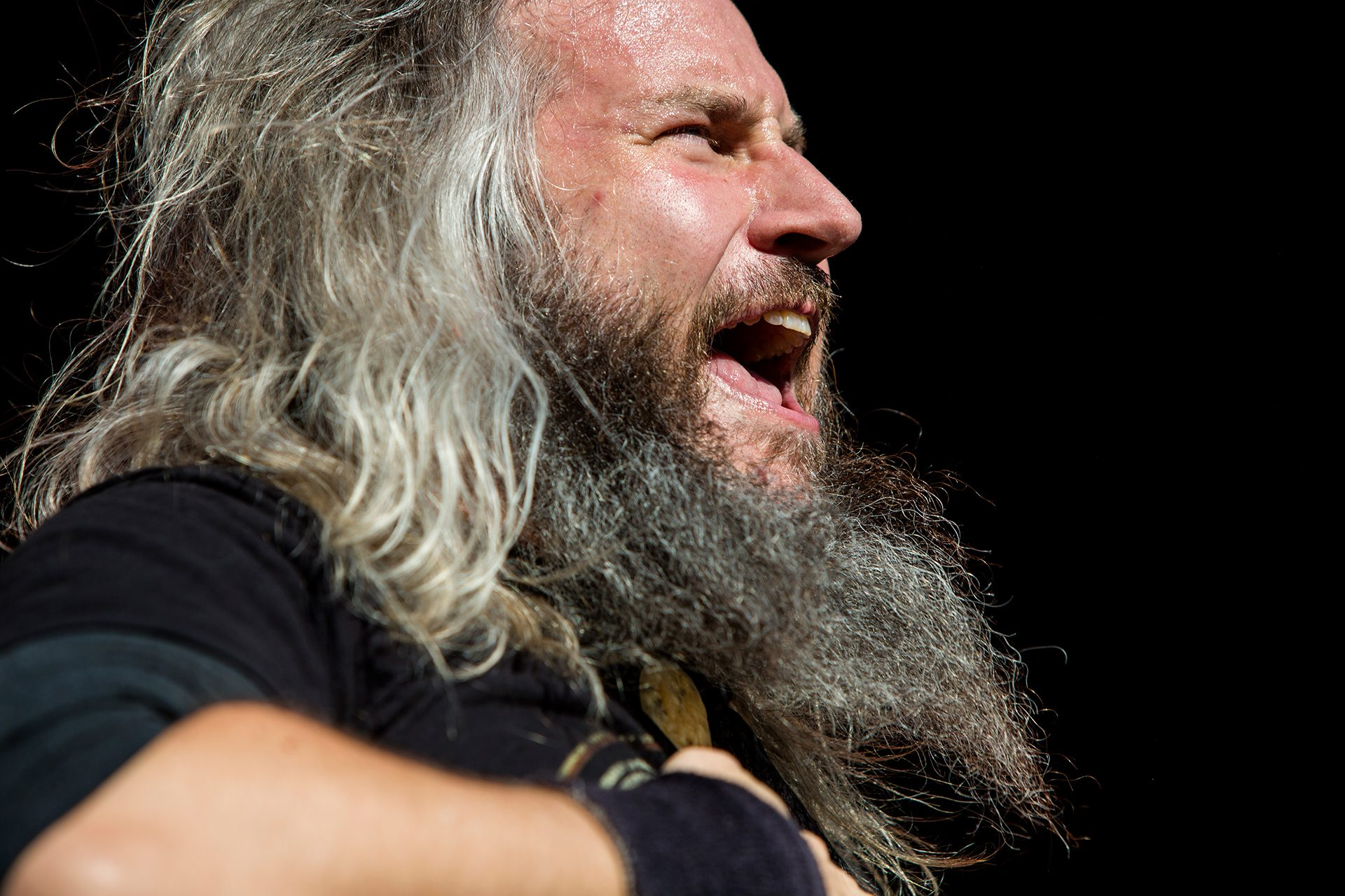 Troy Sanders, Mastodon, Tuska metal festival