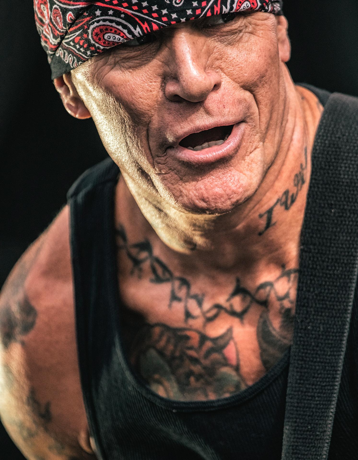 Pete Koller, Sick Of It All band, guitarist, Tuska metal festival