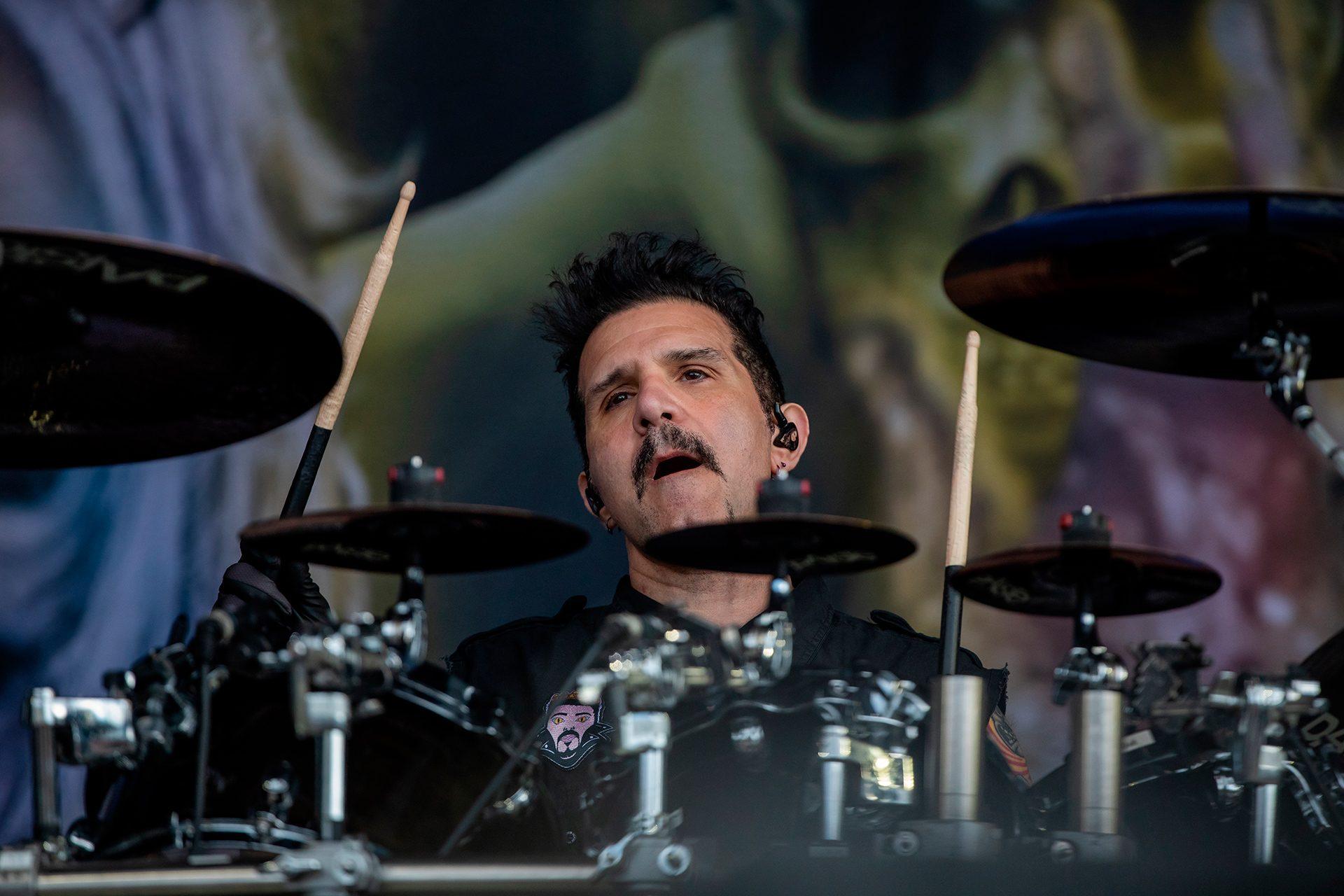 Charlie Benante, Anthrax band, drummer, Tuska metal festival