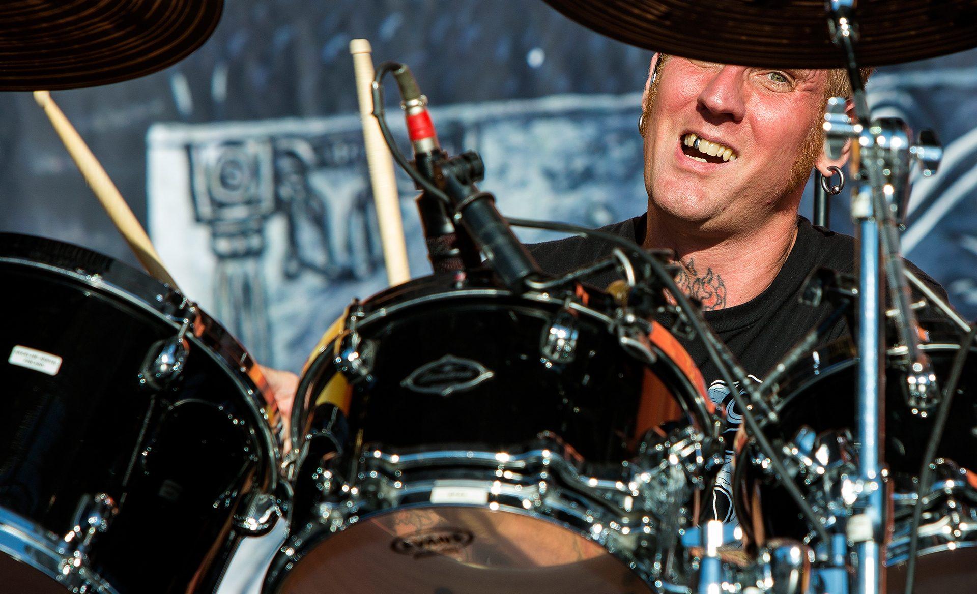 Brann Dailor, drummer, Mastodon band, Tuska metal festival