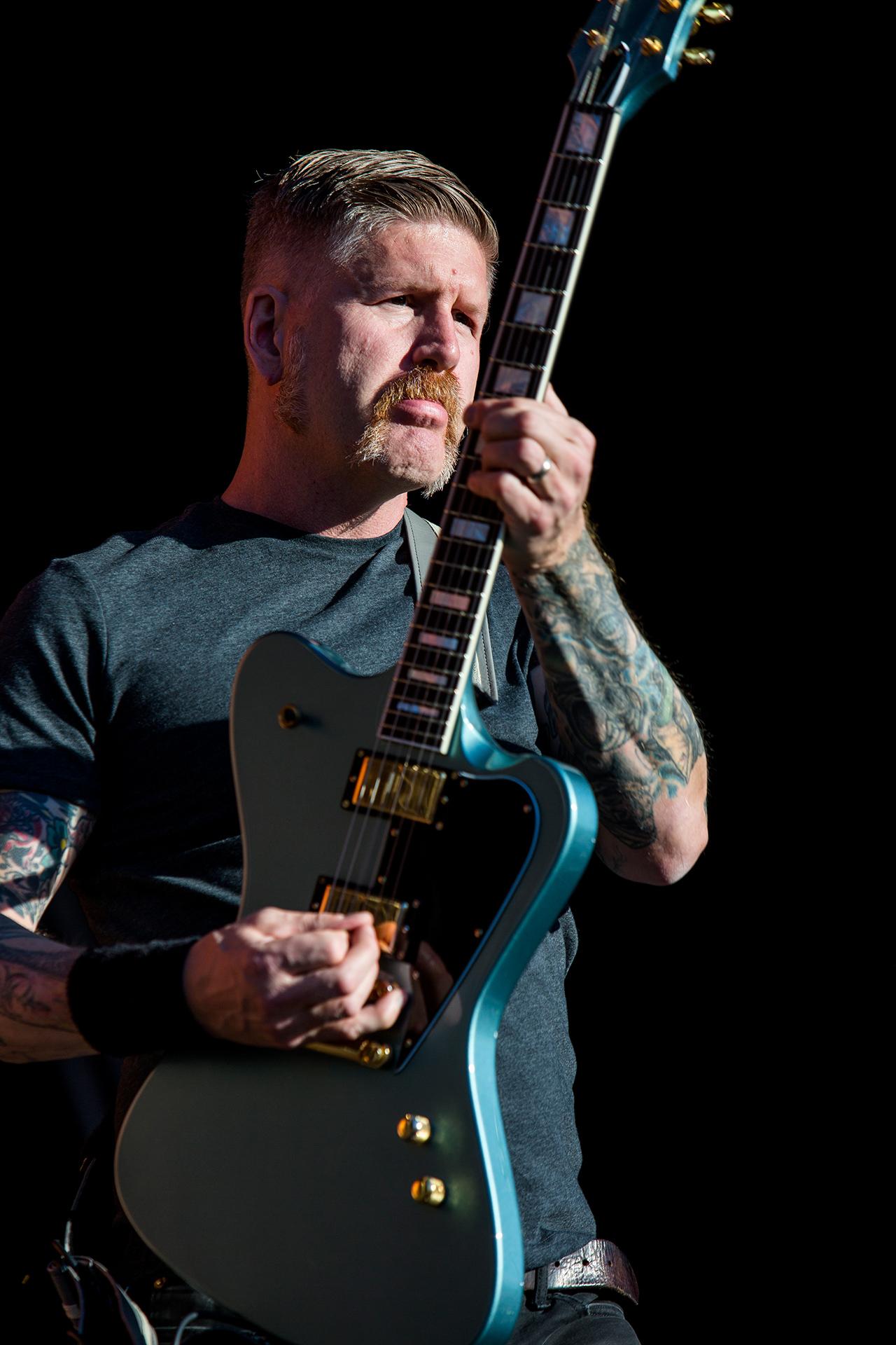Bill Kelliher, guitarist, Mastodon band, Tuska metal festival