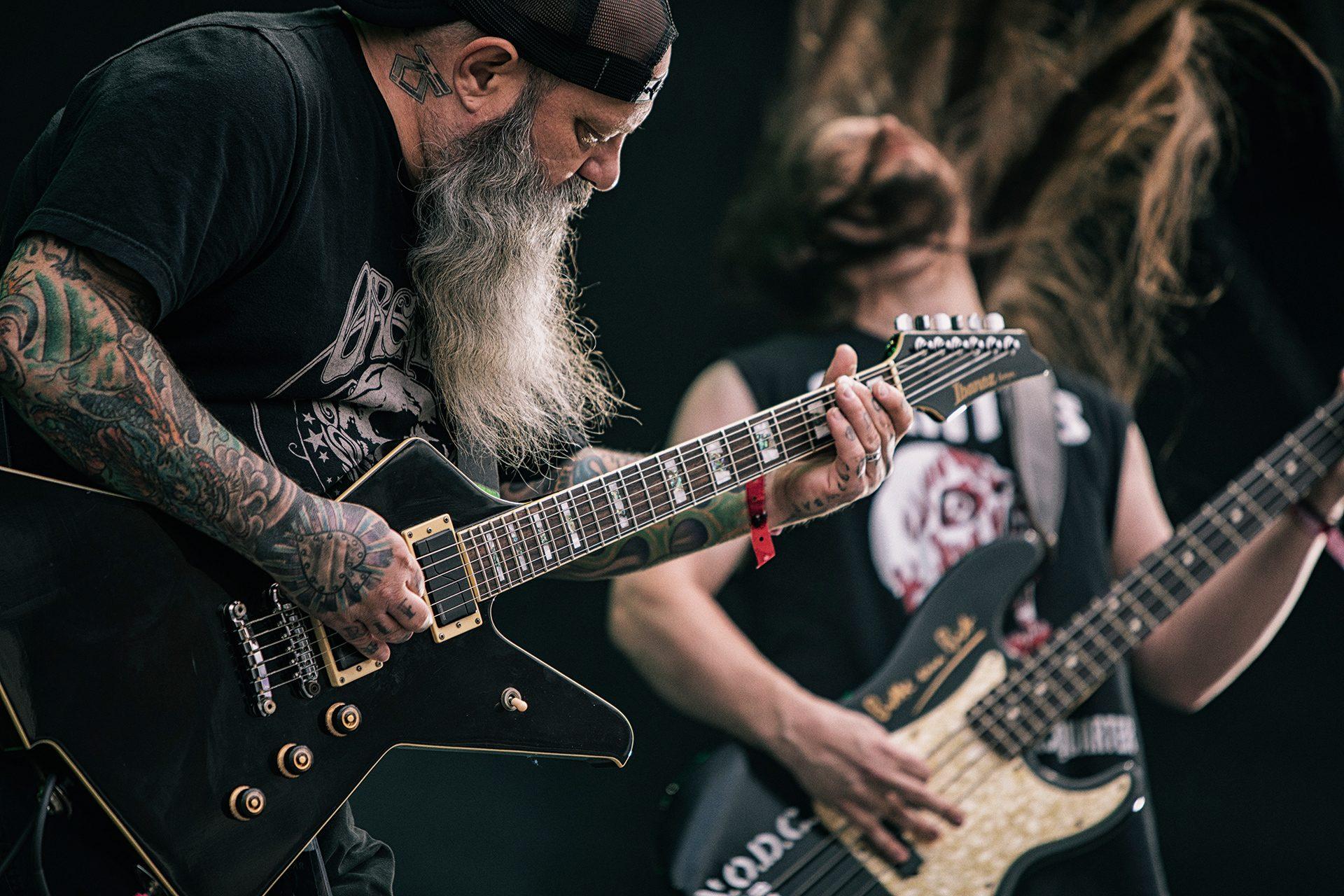 Kirk Windstein, Crowbar band, vocalist, Tuska metal festival