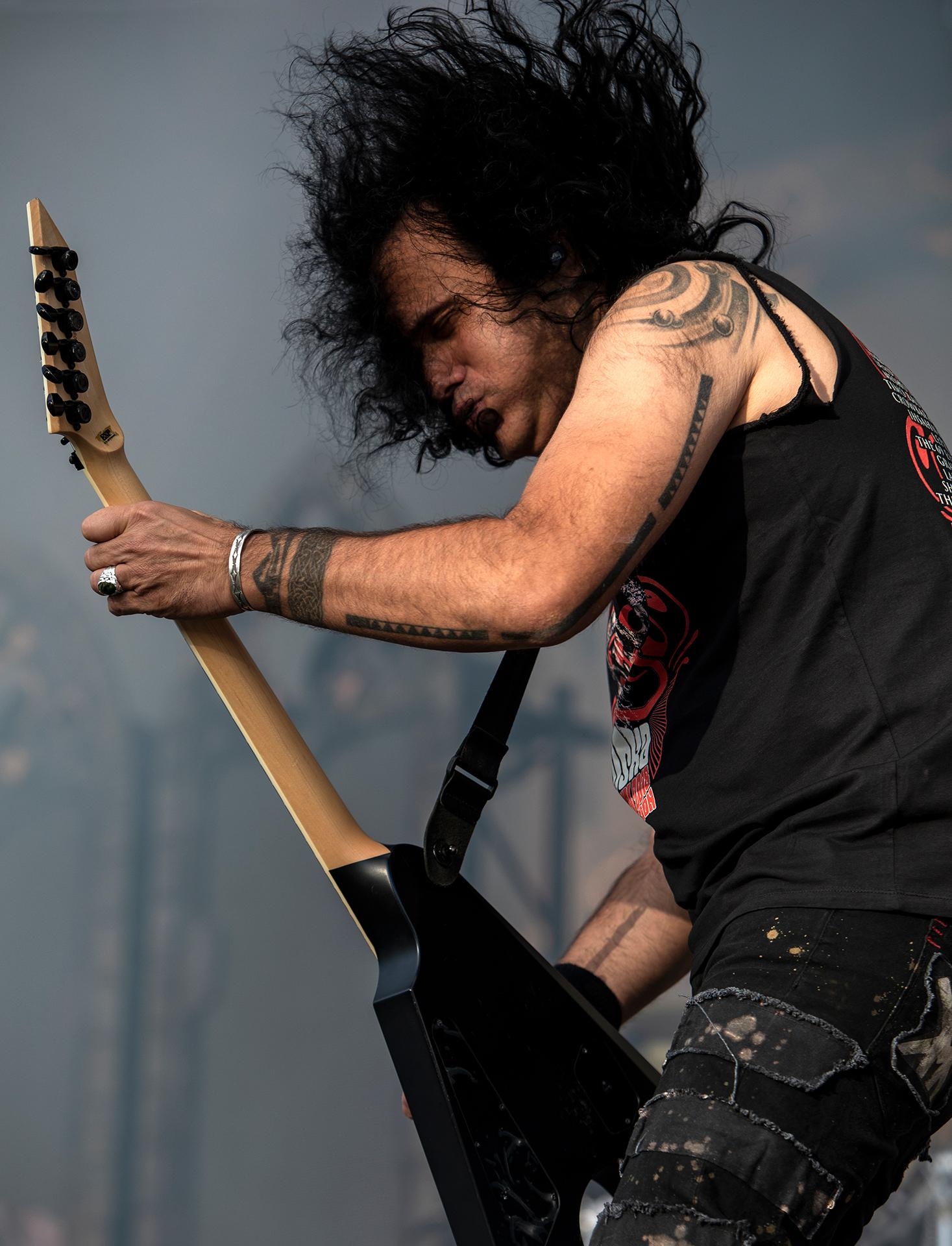 Mille Petrozza, Kreator, Tuska metal festival, metal music