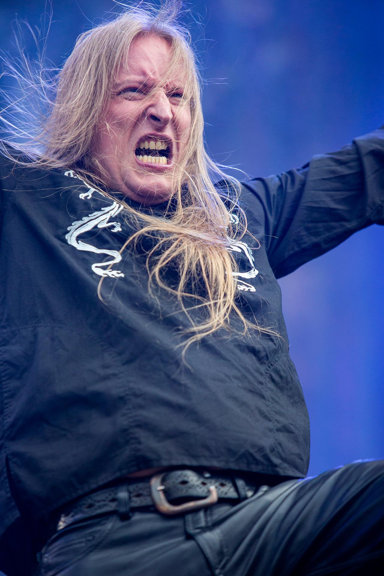 Jari Mäenpää, guitarist, vocalist, Wintersun band, Tuska metal festival