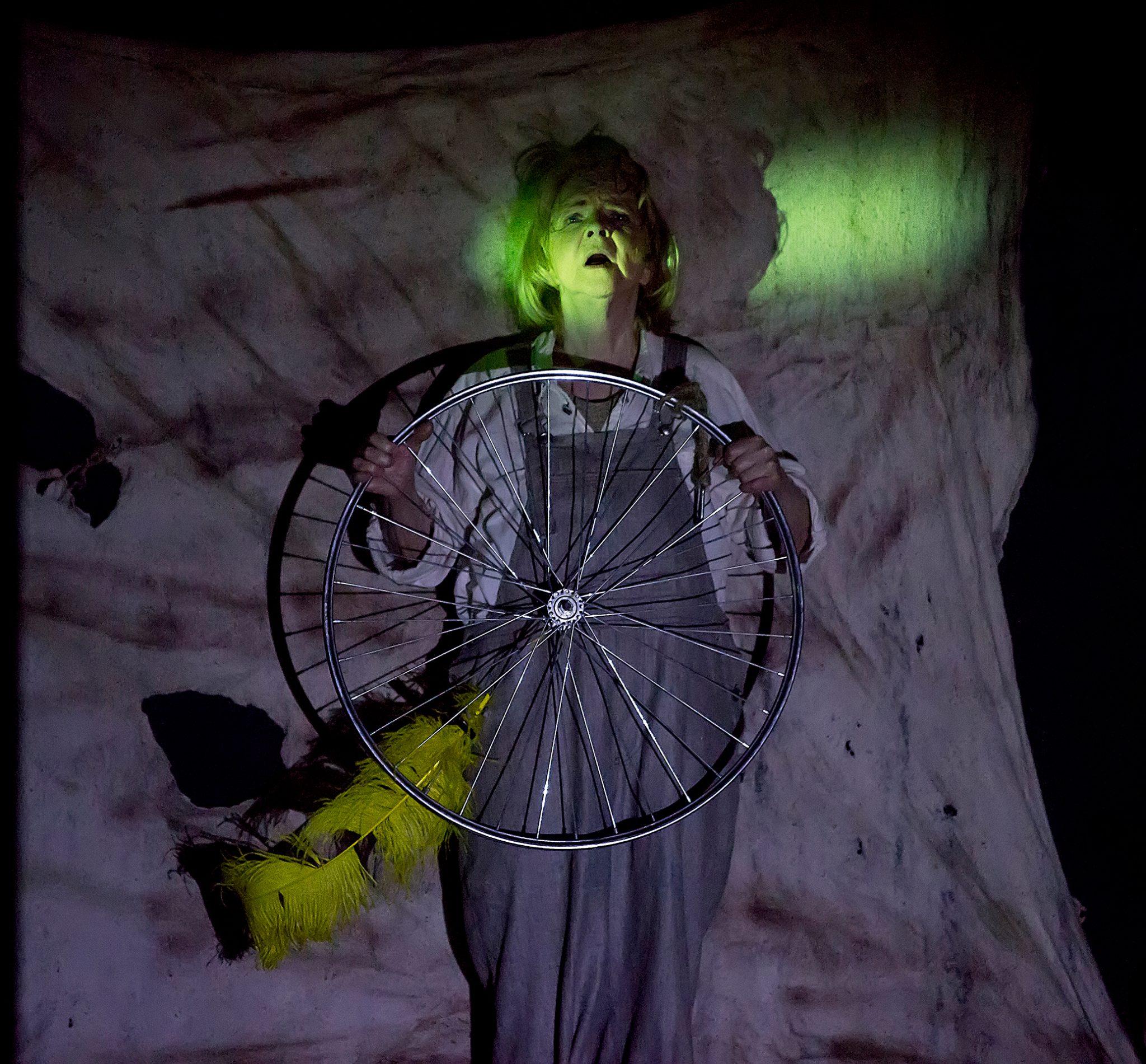 Tatyana Tarskaya, Dandelion Wine, play by Art&Shock theater, Almaty