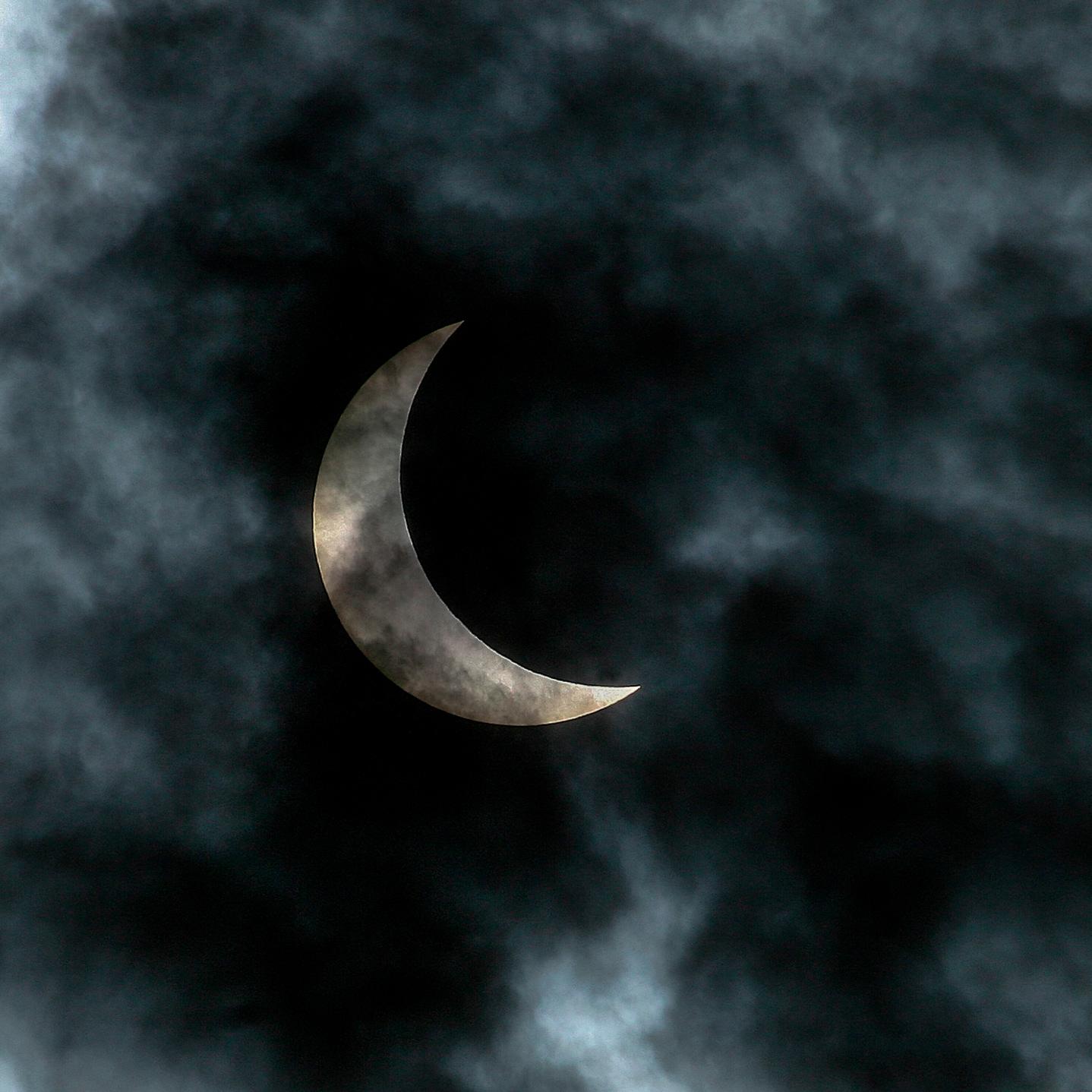 Solar eclipse, 2008