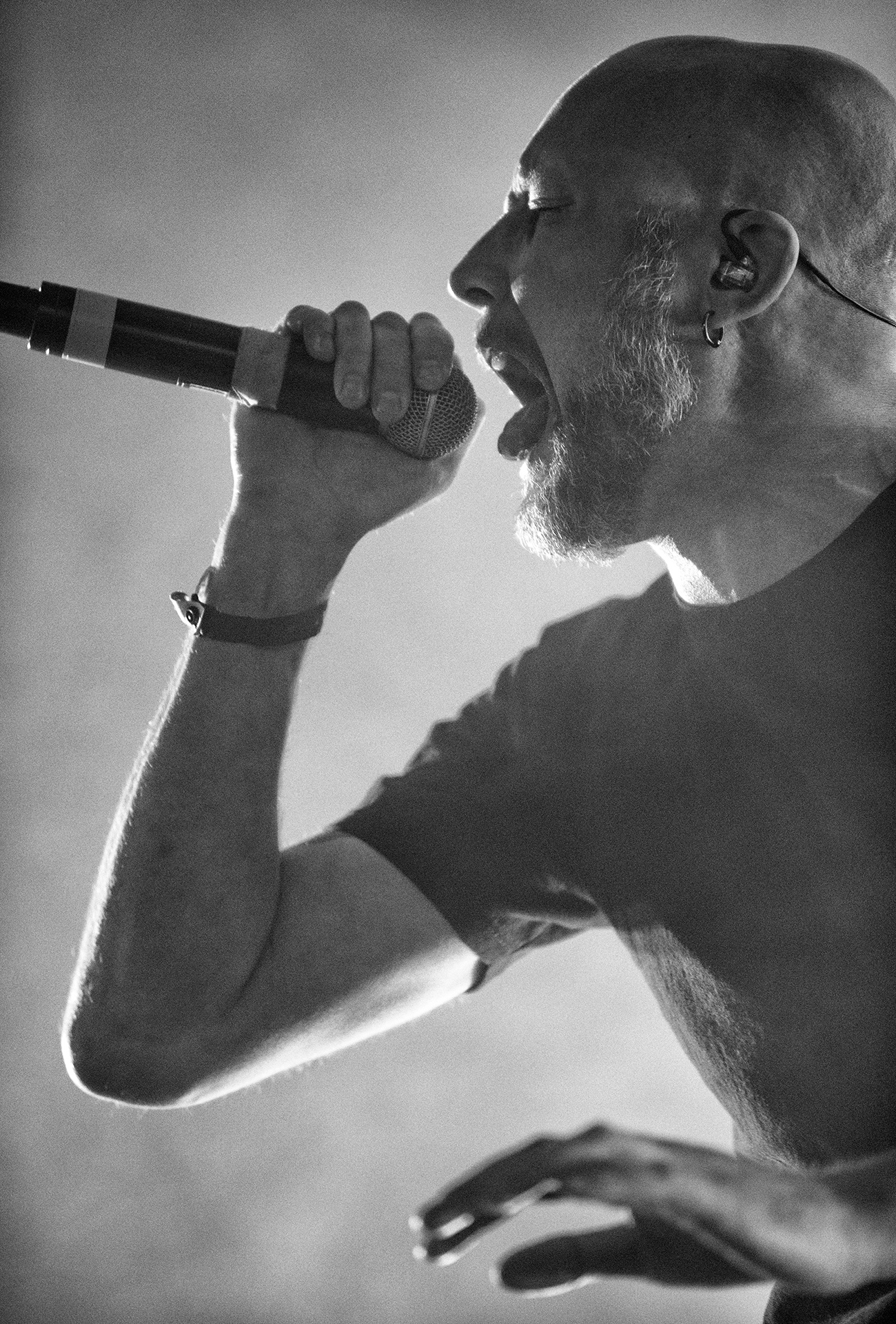 Jens Kidman, Meshuggah, Tuska vocalist metal festival