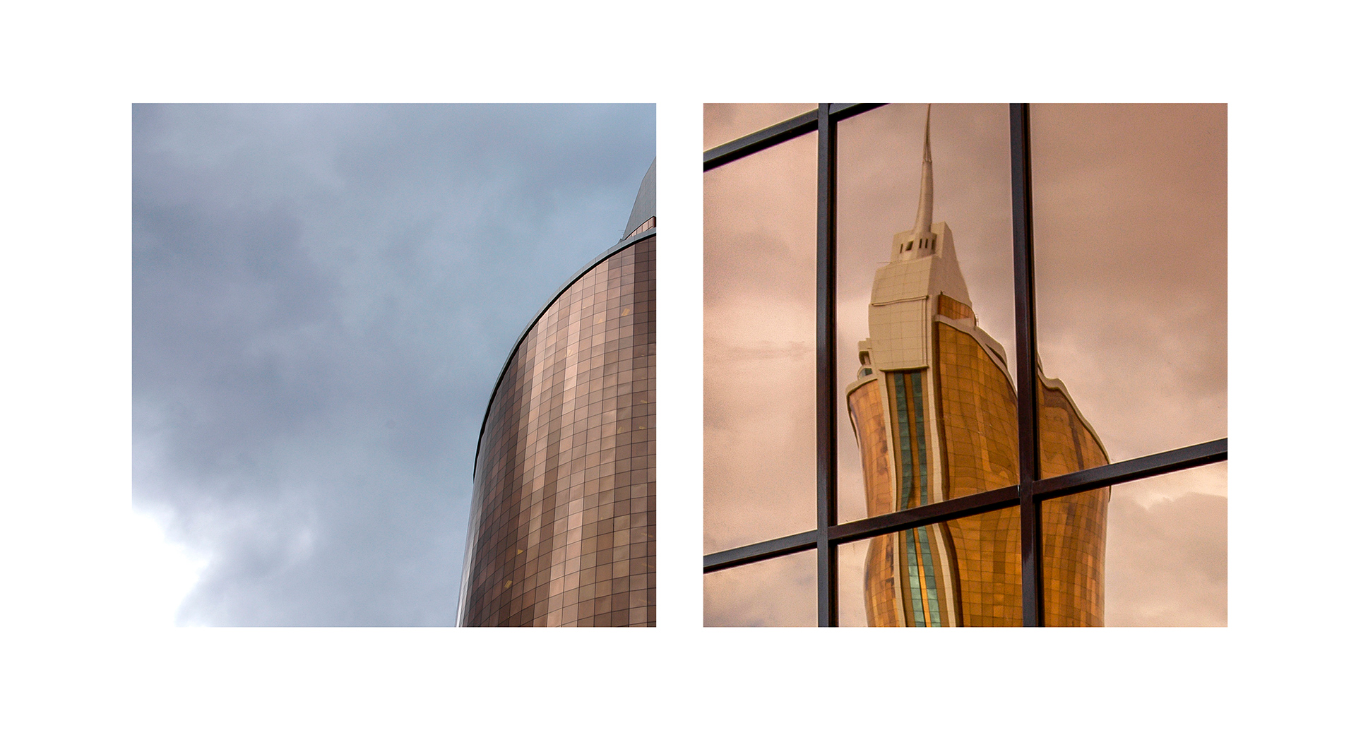 Ministry of Transport and Communications, Astana, Akmola, Nursultan, reflection, architecture, Kazakhstan