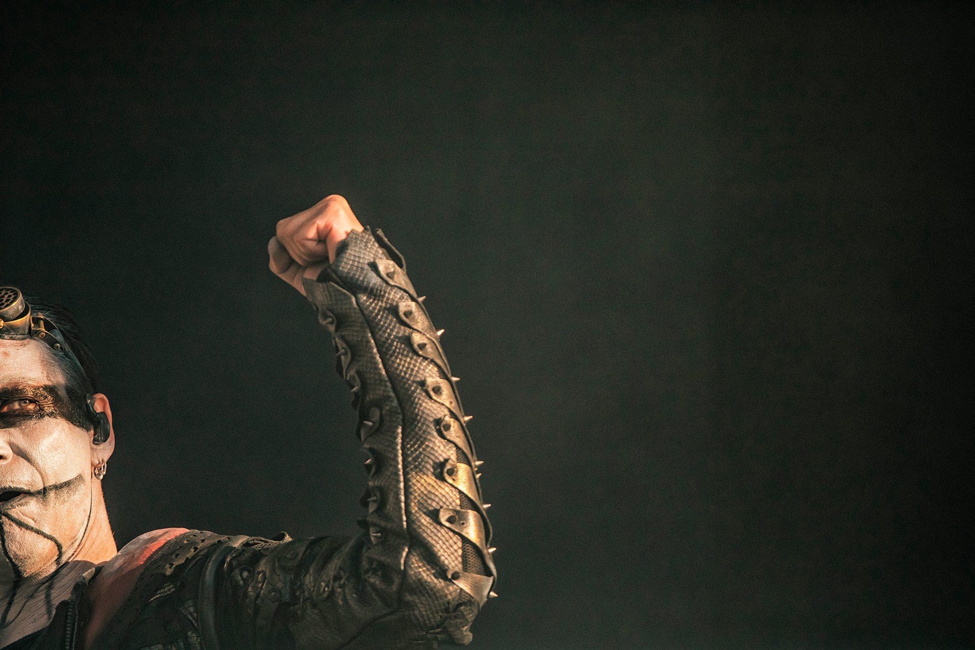 Gerlioz, Dimmu Borgir band, keyboardist, Tuska metal festival