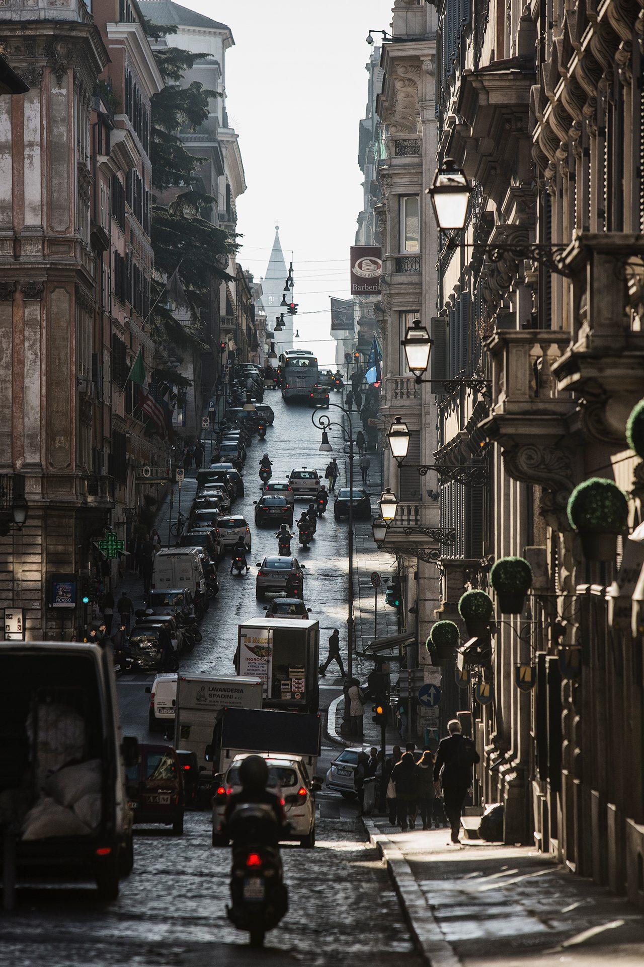 Rome, Italy, street