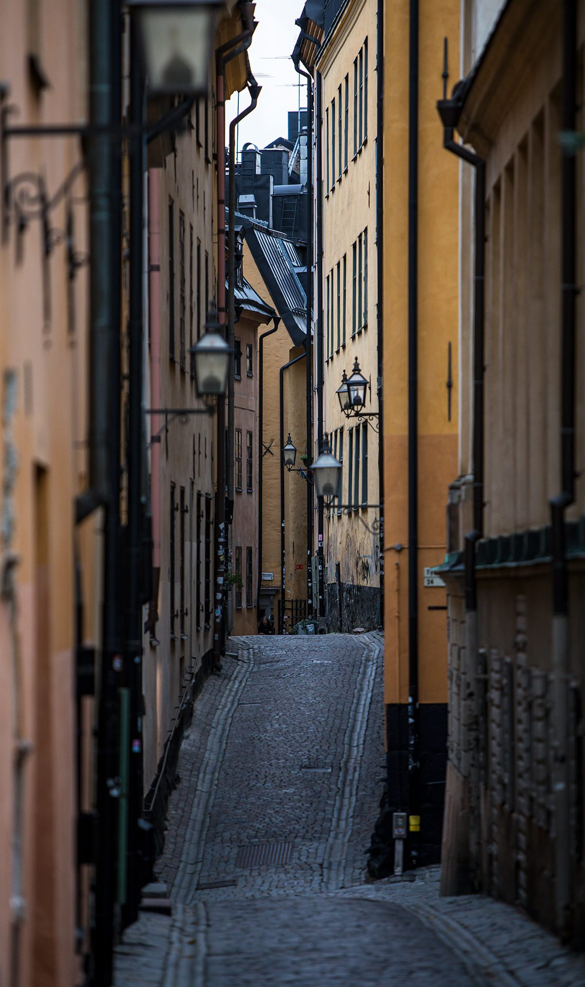 Stockholm, Sweden, street, empty