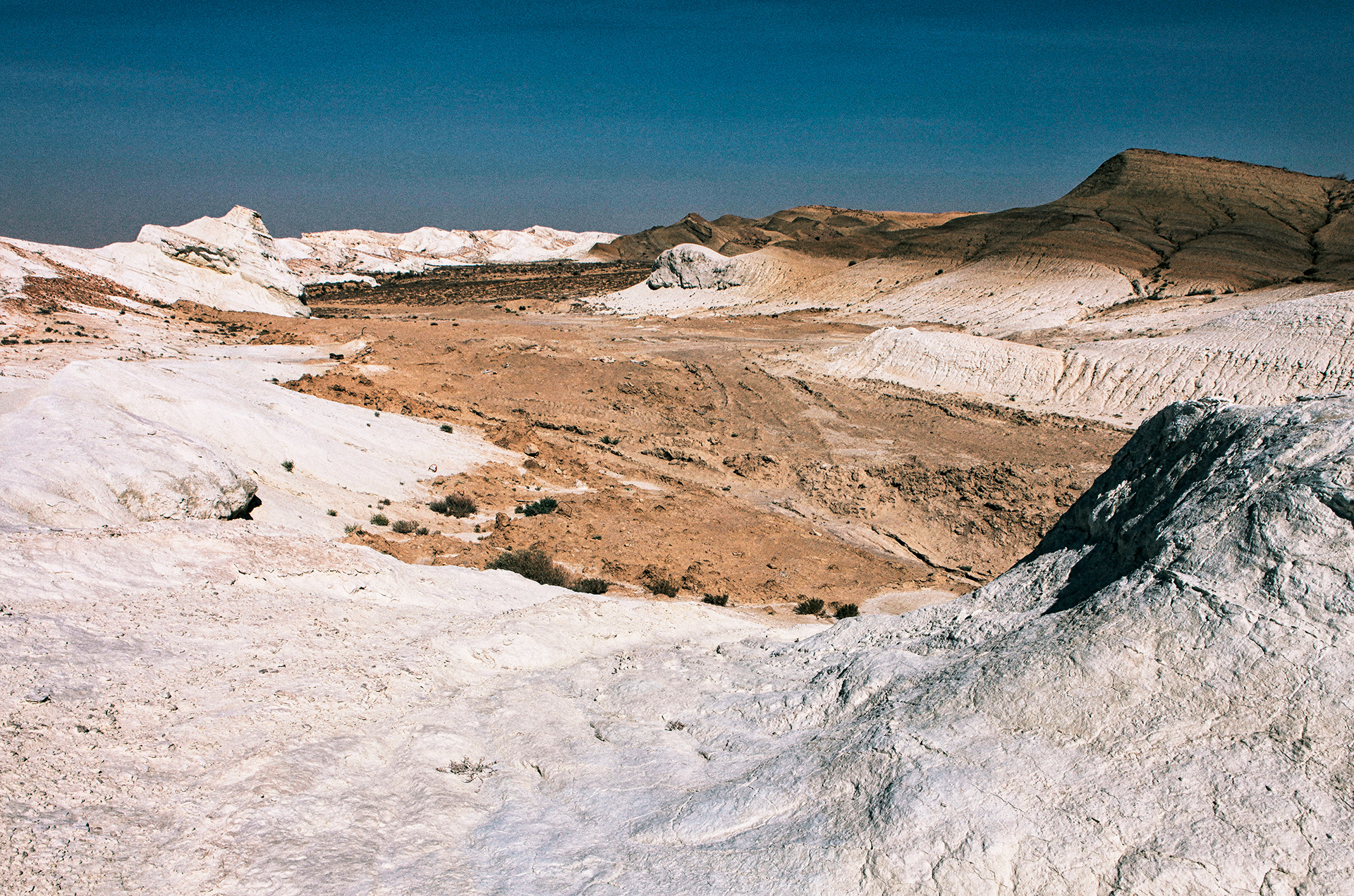 Chalk cliffs, Boszhira tract, Mangystau Province, Kazakhstan