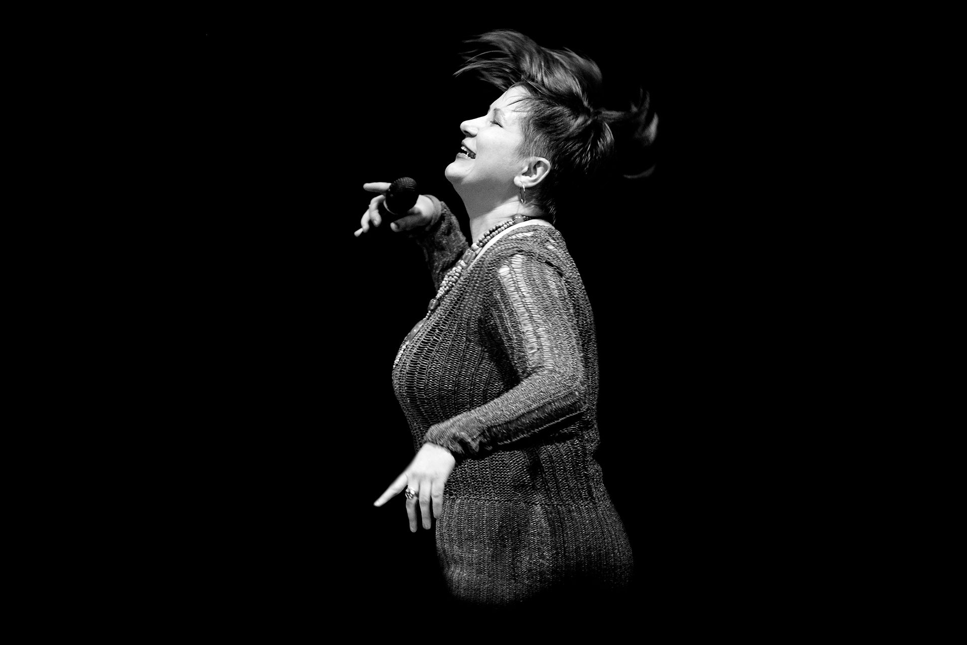 Iren Aravina, jazz singer, Ирен Аравина