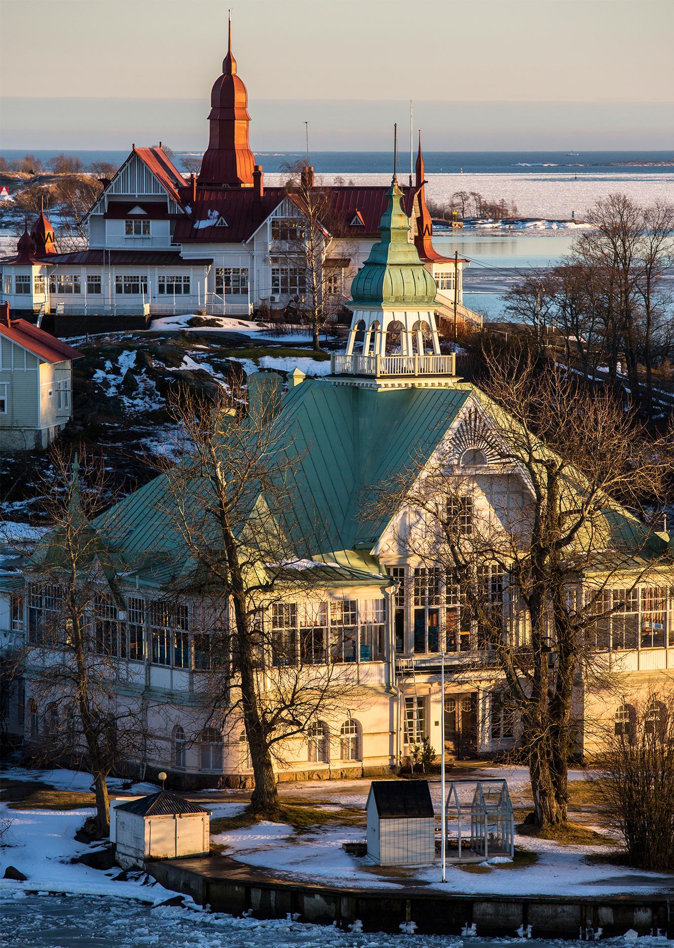 Valkosaari, Helsinki, Finland, island, Suomi, Baltic sea
