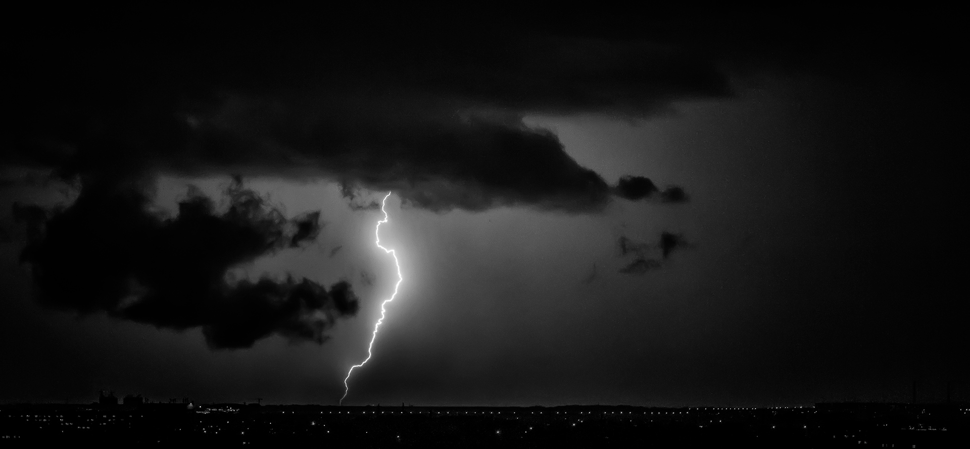 Flash, Tastak, Almaty, storm, night, Kazakhstan