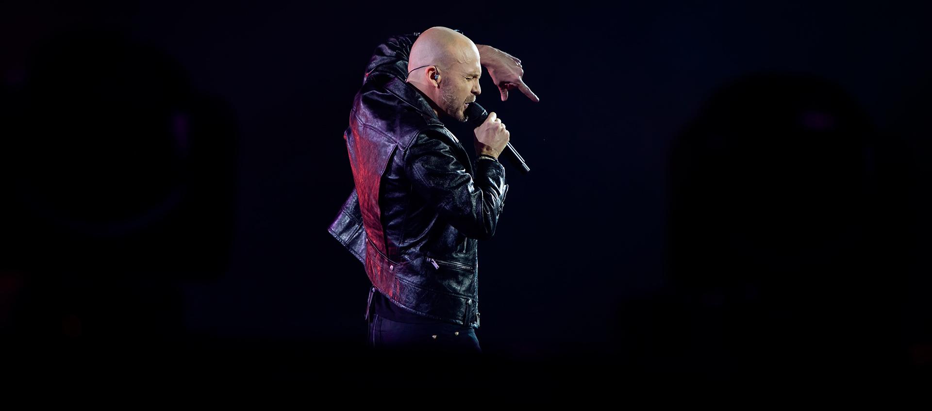 Juha Tapio, Hartwall Arena, show, pop singer, concert, gig