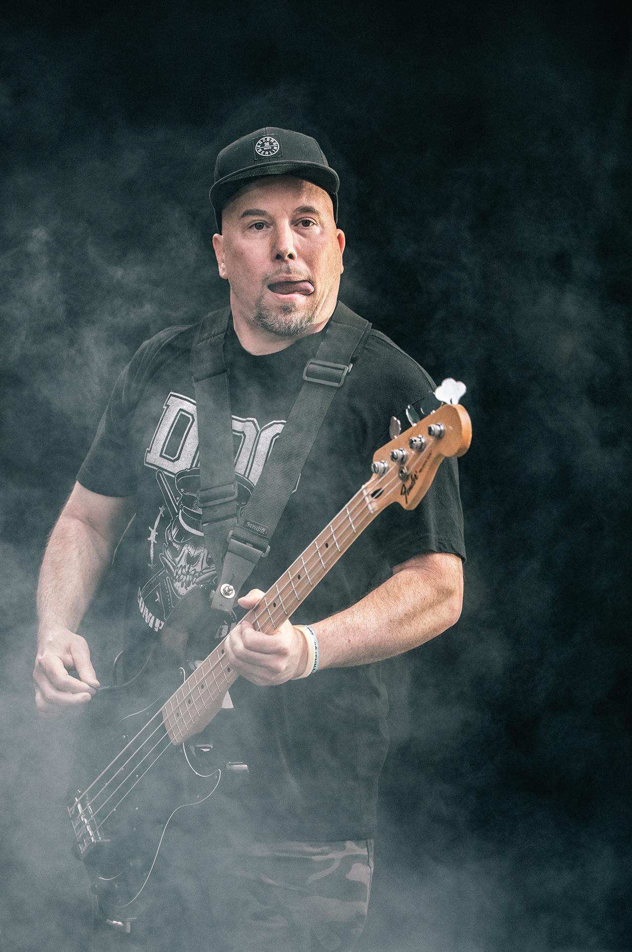 Craig Setari, Sick Of It All band, vocalist, Tuska metal festival