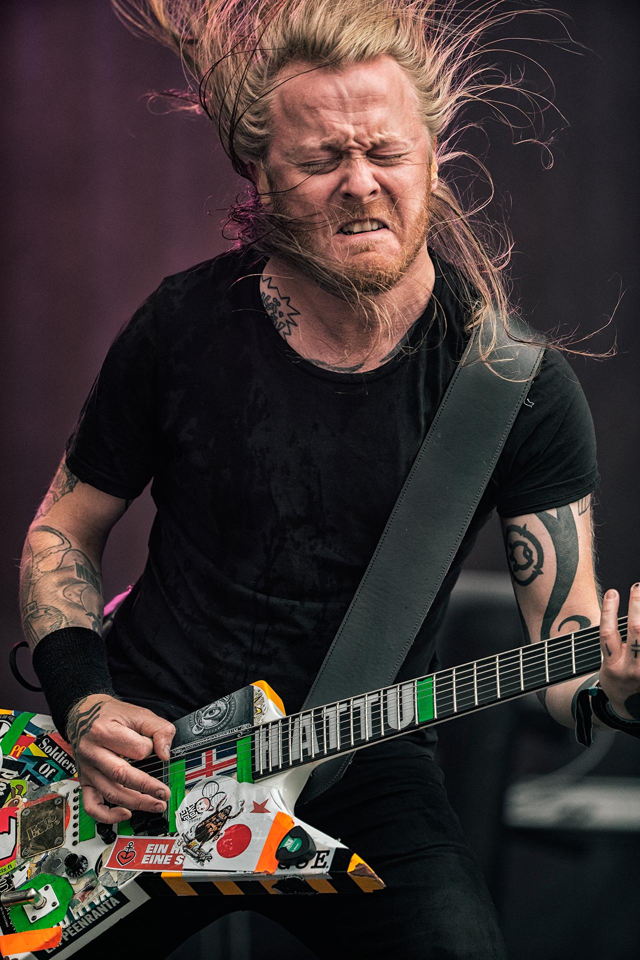 Antti Hyyrynen, Stam1na band, Tuska metal festival