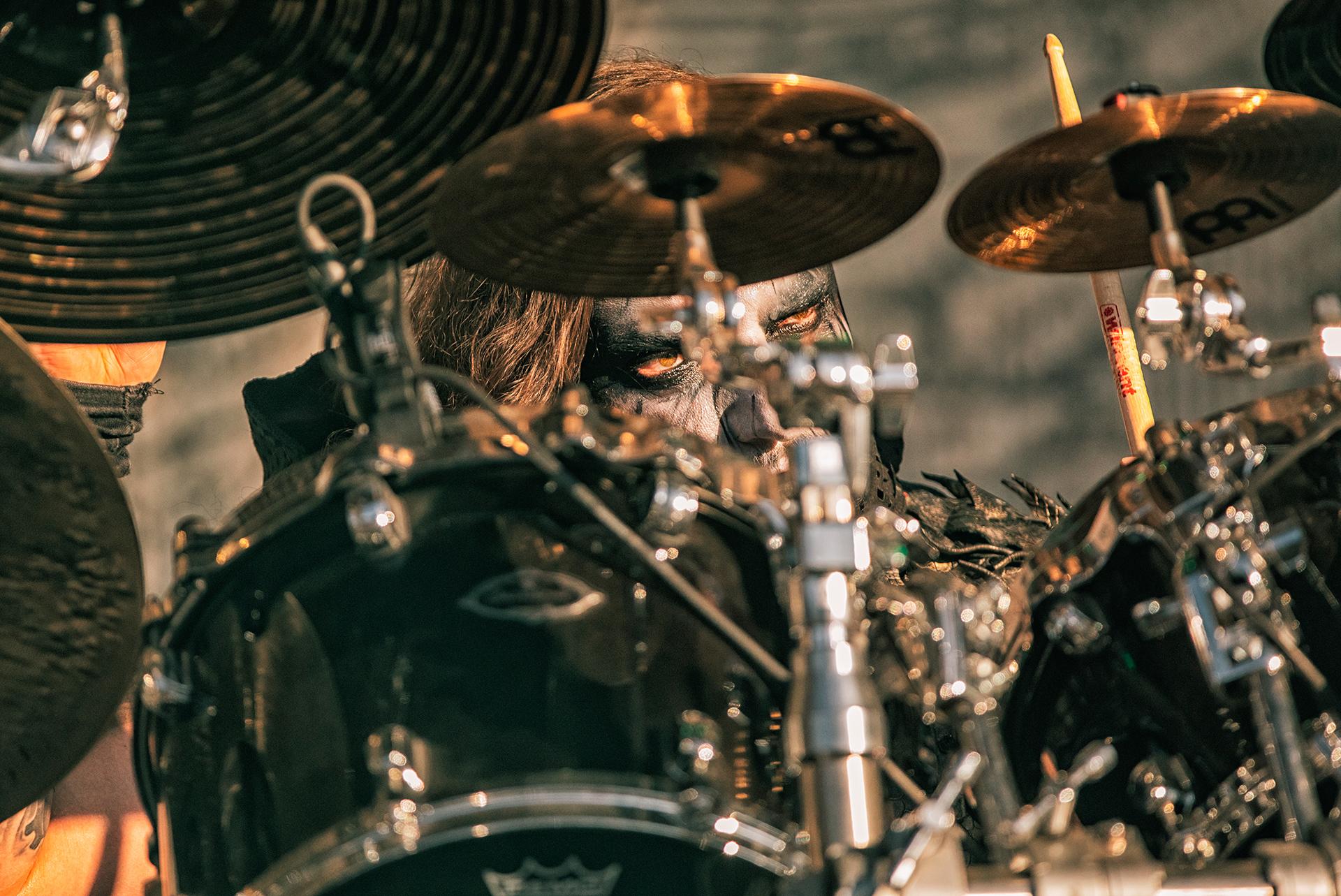 Dariusz Daray Brzozowski, Dimmu Borgir band, drummer, Tuska metal festival