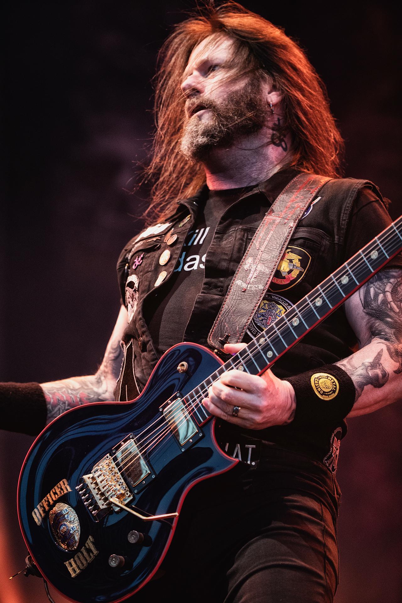 Gary Holt, Slayer band guitarist, Tuska metal festival