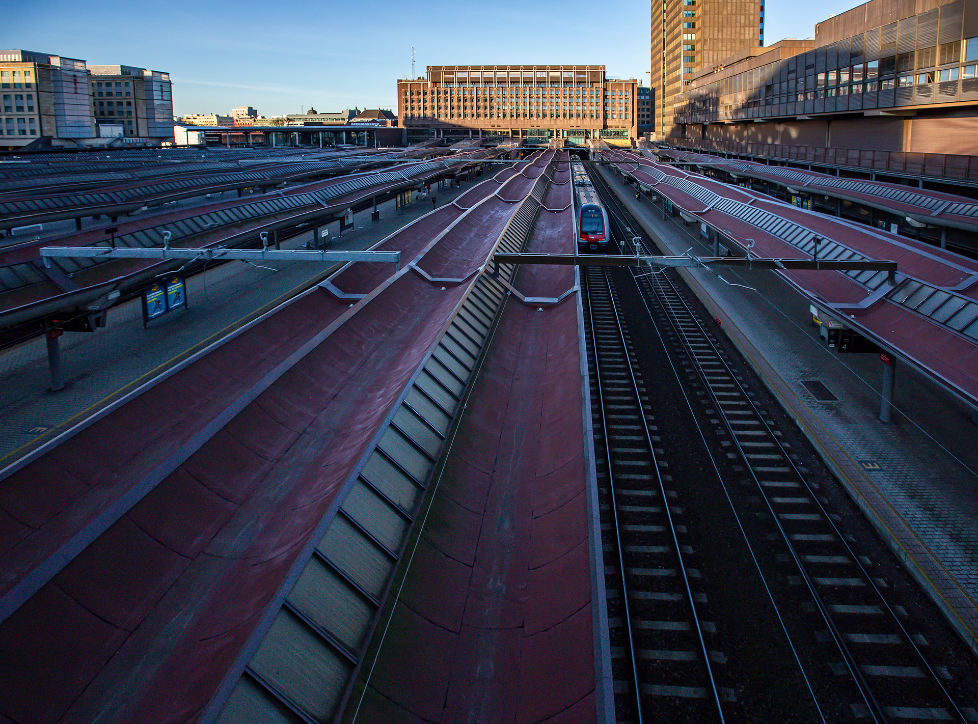 Oslo, Norway, architecture, urban, street, city, railway station