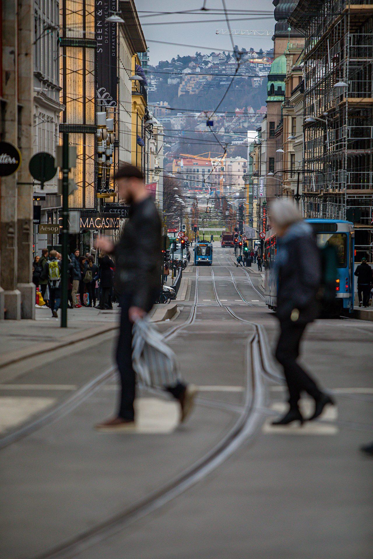Oslo, Norway, Street, urban, people
