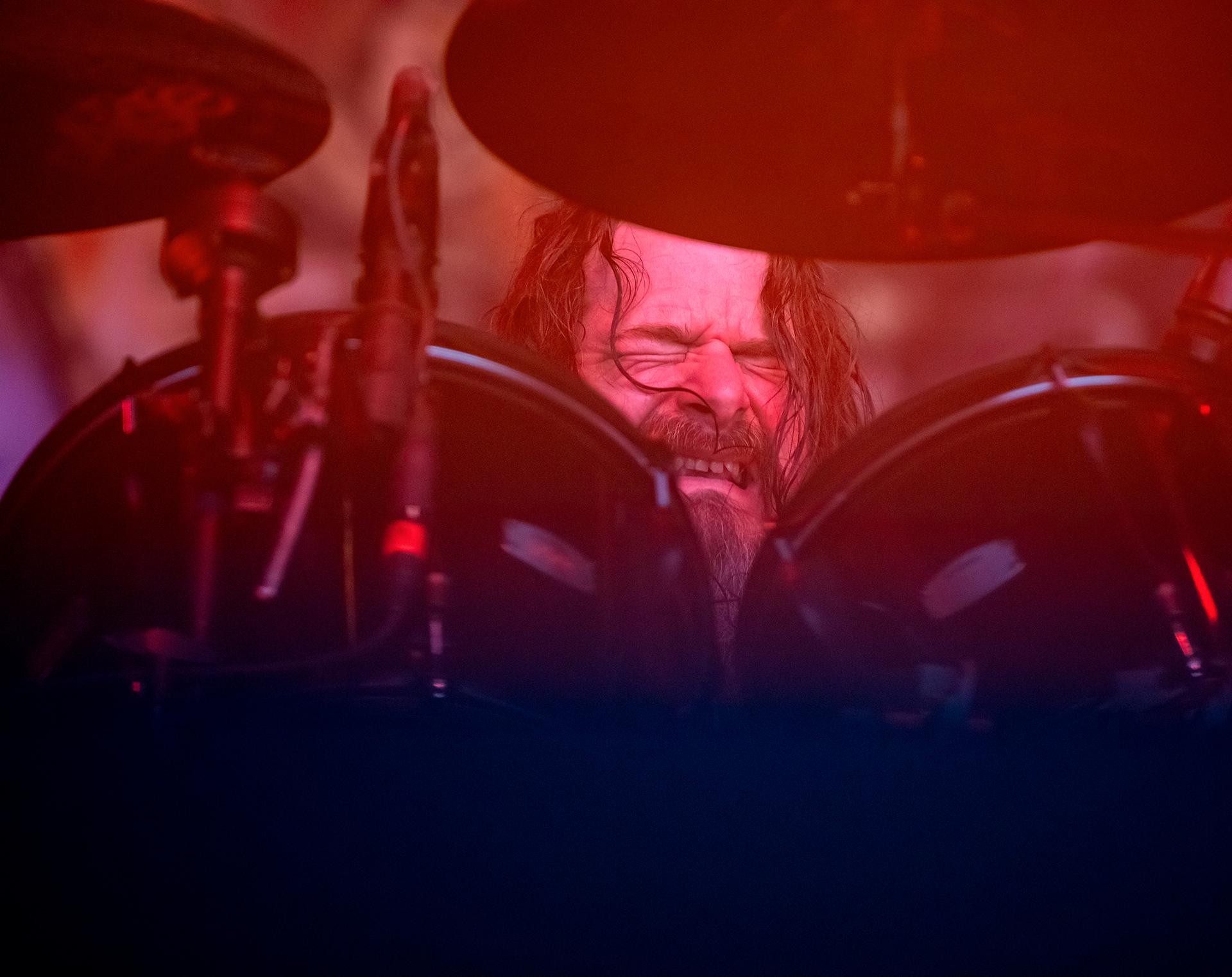 Paul Bostaph, drummer, Slayer band, Tuska metal festival