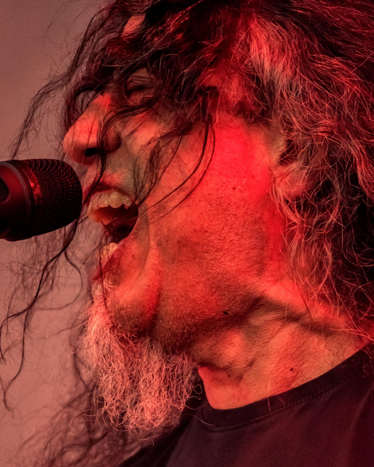 Tom Araya, Slayer band vocalist, Tuska metal festival