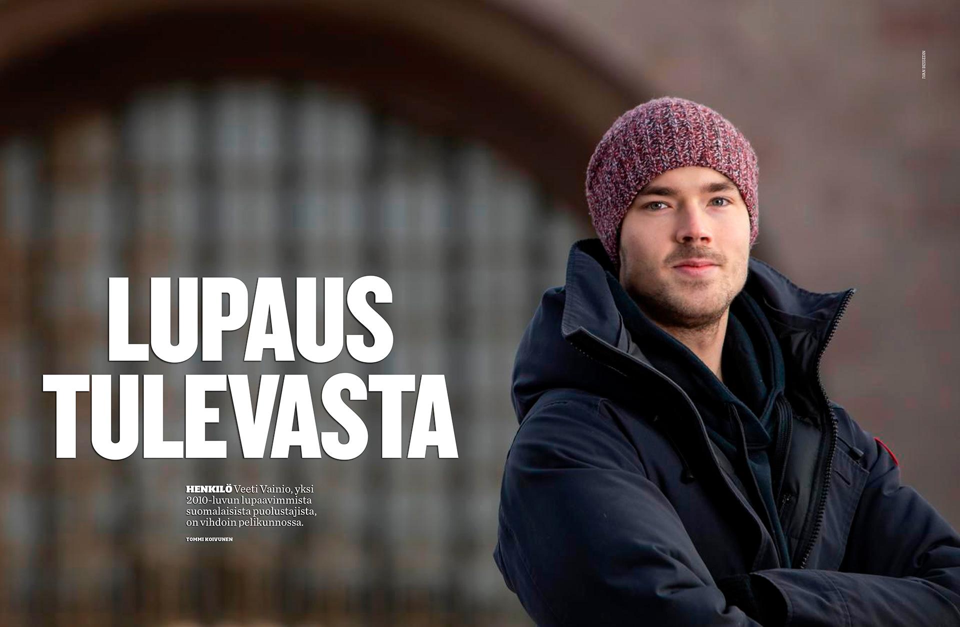 Veeti Vainio, hockey player, jääkiekkopuolustaja