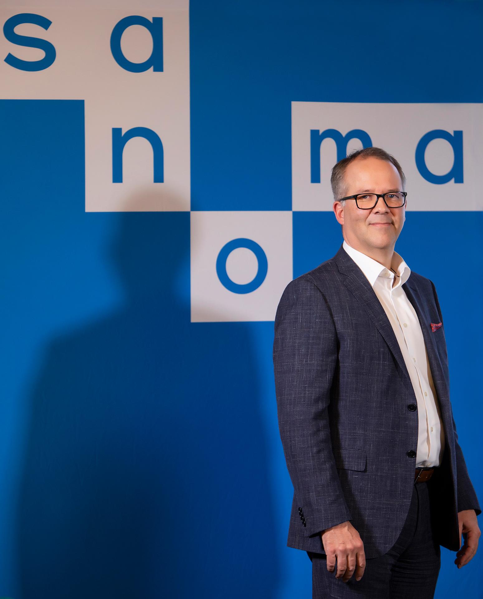 Markus Holm, Sanoma Group, CEO, 2019